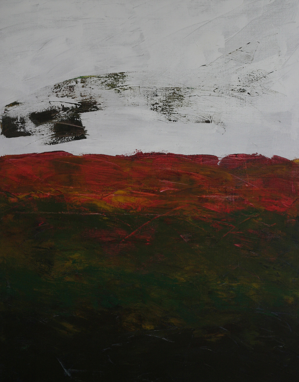 Horizontes #8 . Oil on canvas . 110x80 cm